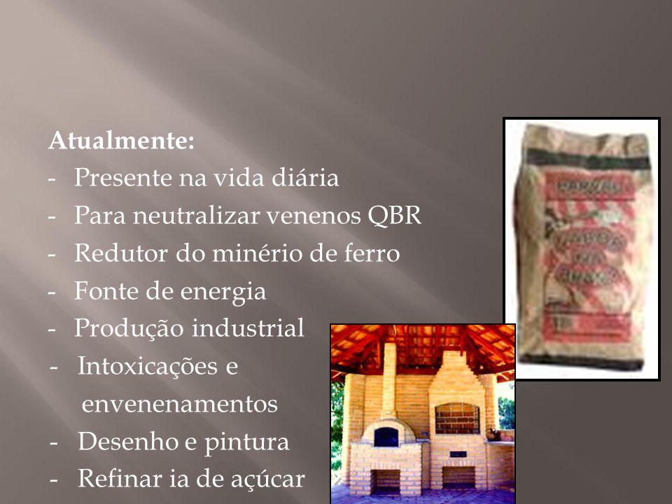 - Para neutralizar venenos QBR ( - Redutor do minério de ferro