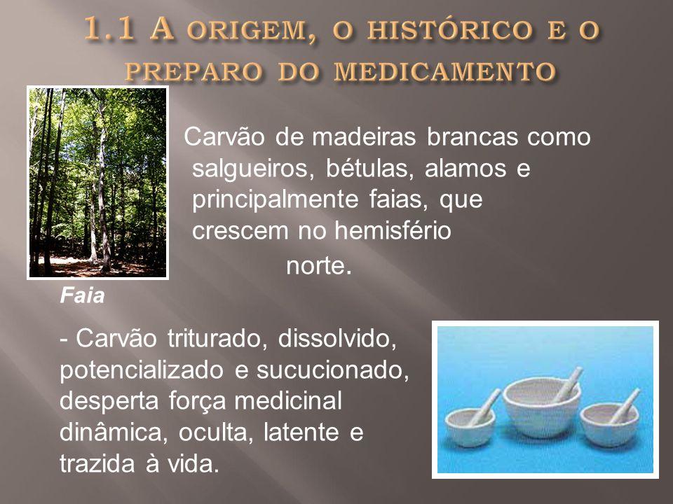 1.1 A origem, o histórico e o preparo do medicamento
