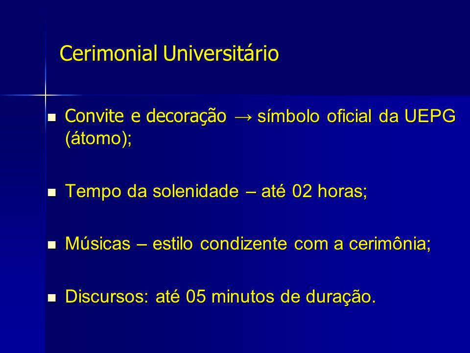 Cerimonial Universitário