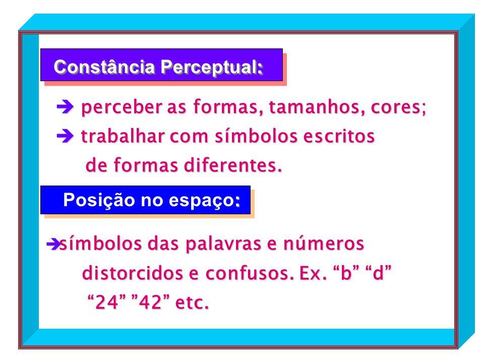 Constância Perceptual: