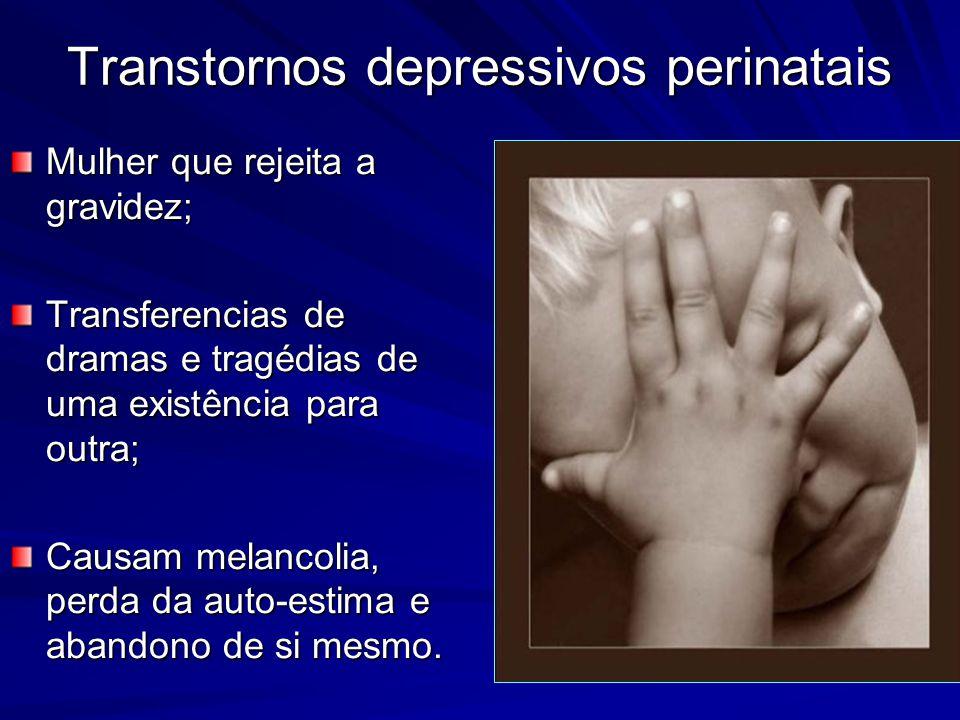 Transtornos depressivos perinatais