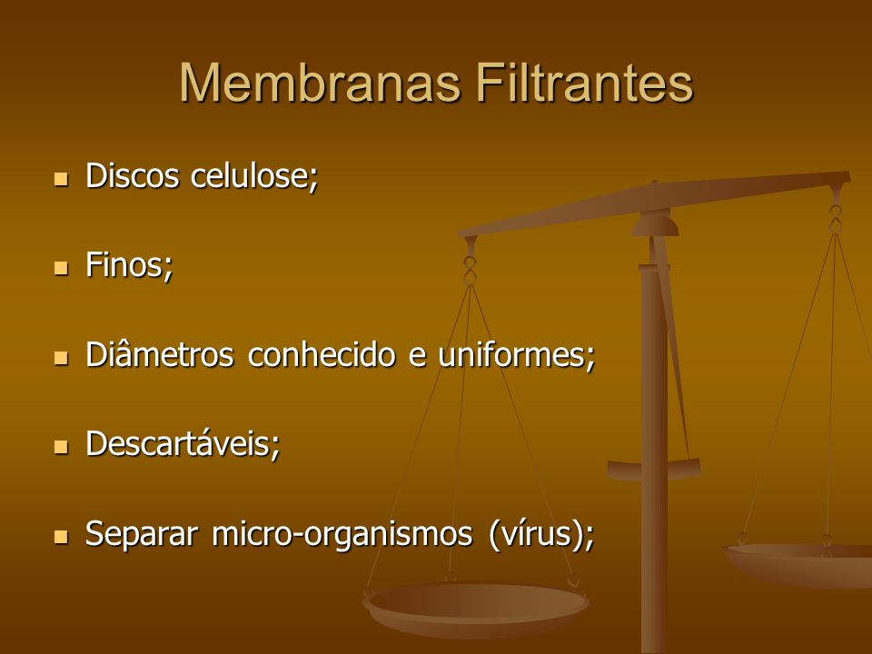 Membranas Filtrantes Discos celulose; Finos;