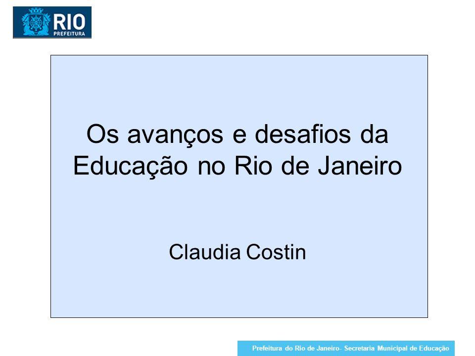 Os avanços e desafios da Educação no Rio de Janeiro