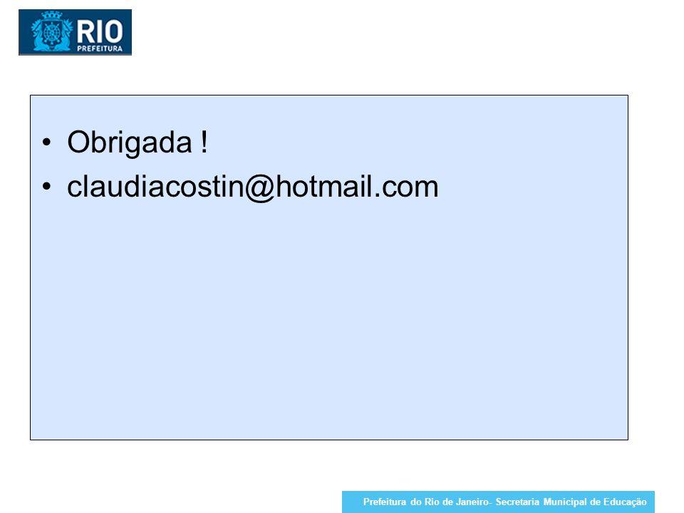 Obrigada ! claudiacostin@hotmail.com