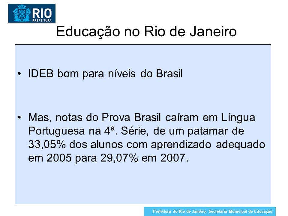 Educação no Rio de Janeiro