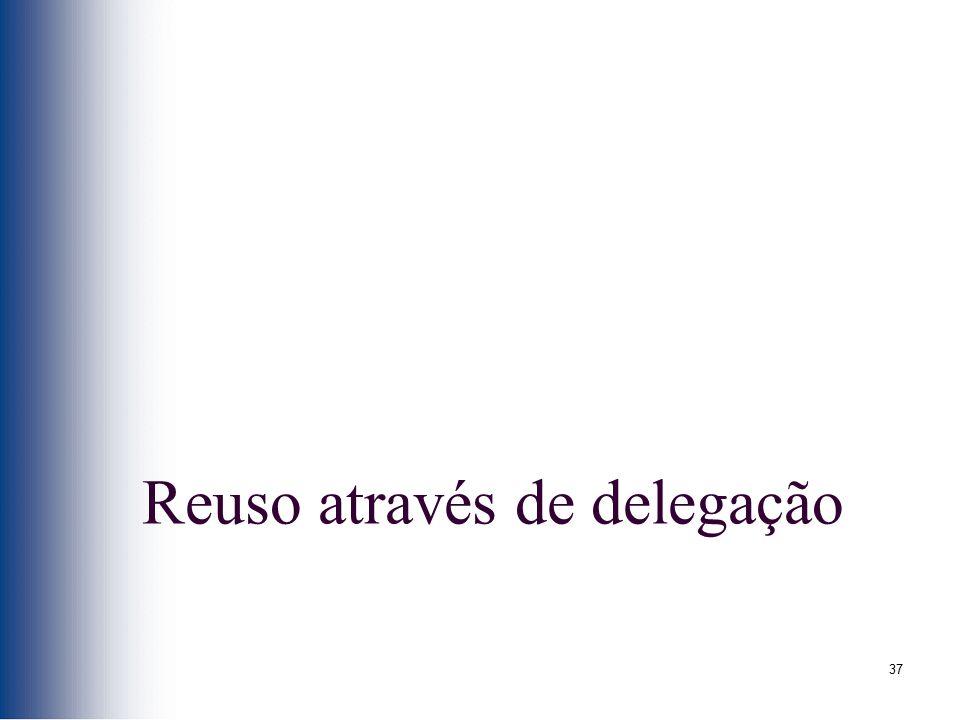 Reuso através de delegação