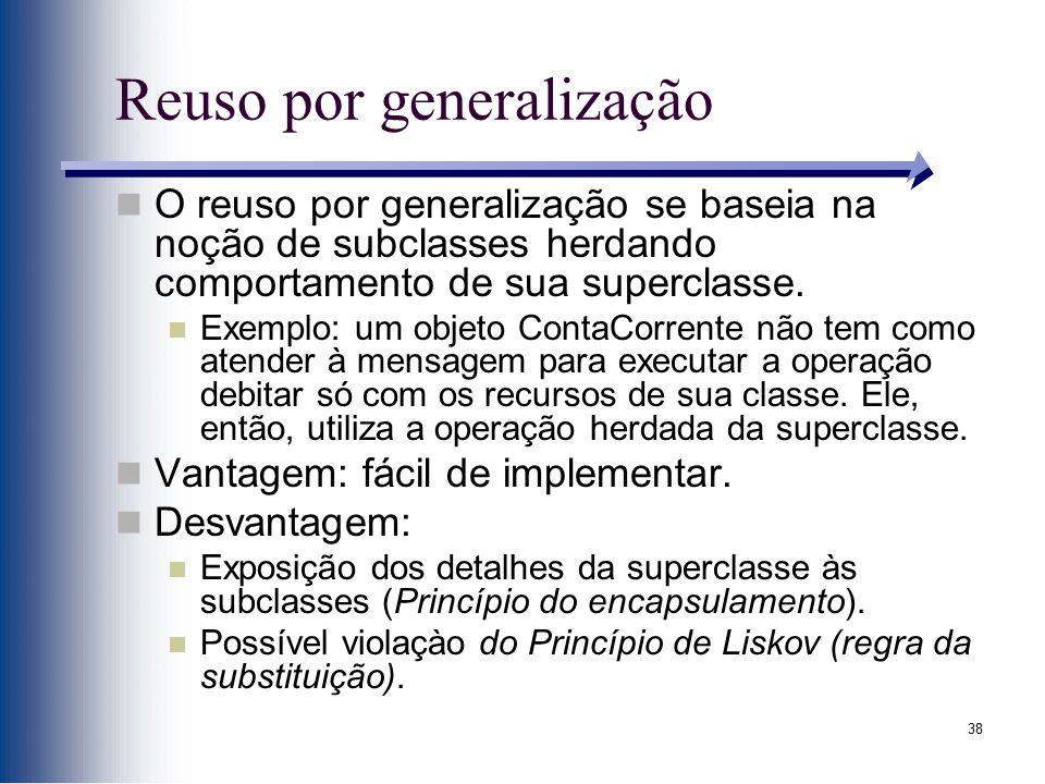 Reuso por generalização