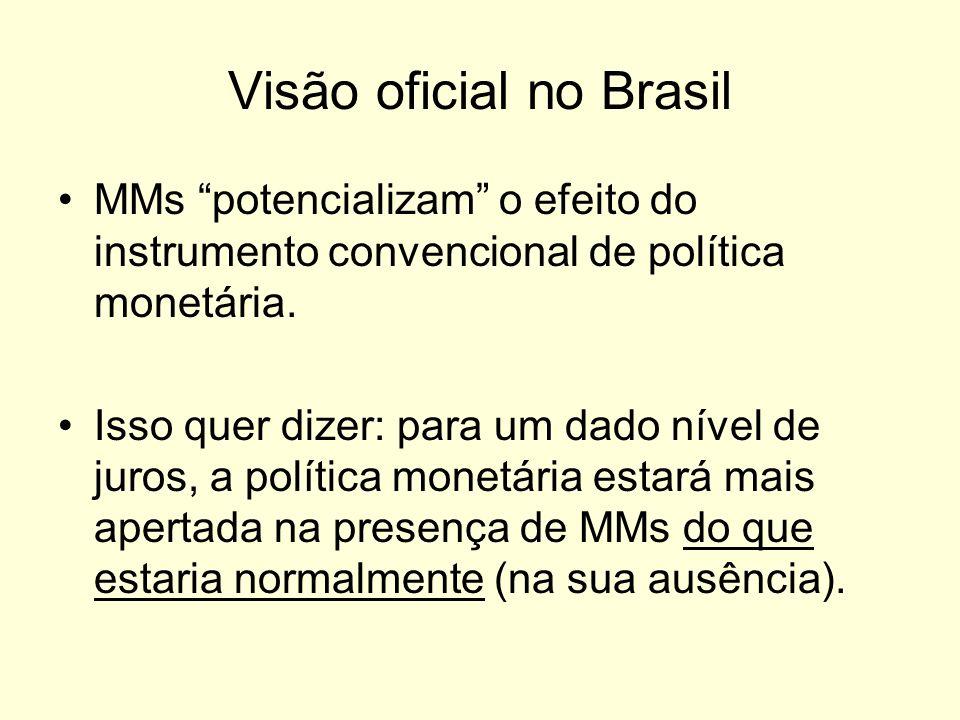 Visão oficial no Brasil