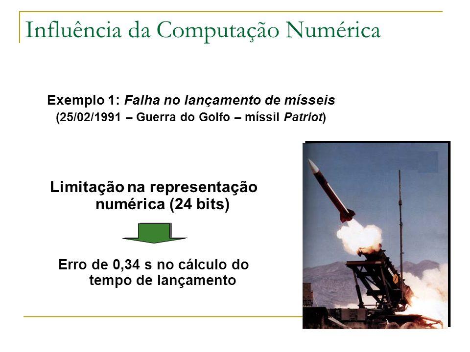 Influência da Computação Numérica