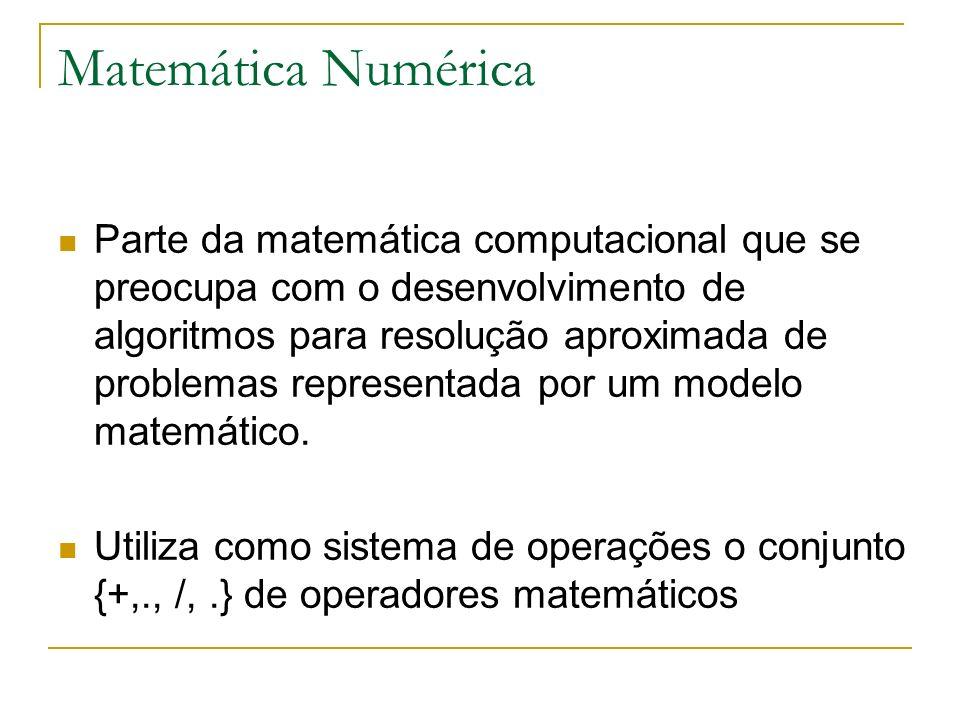 Matemática Numérica