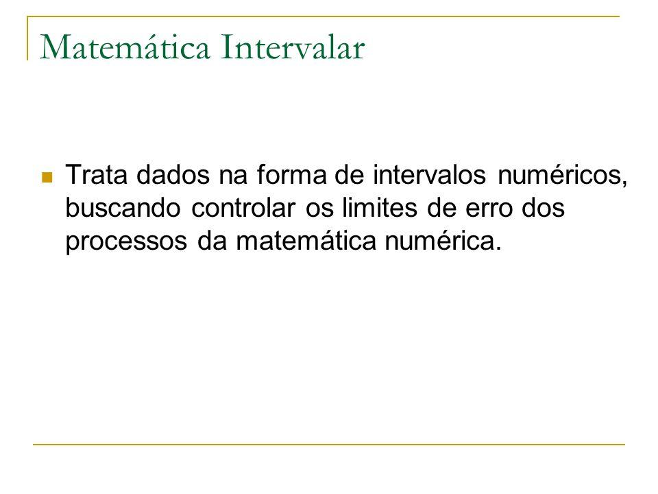 Matemática Intervalar