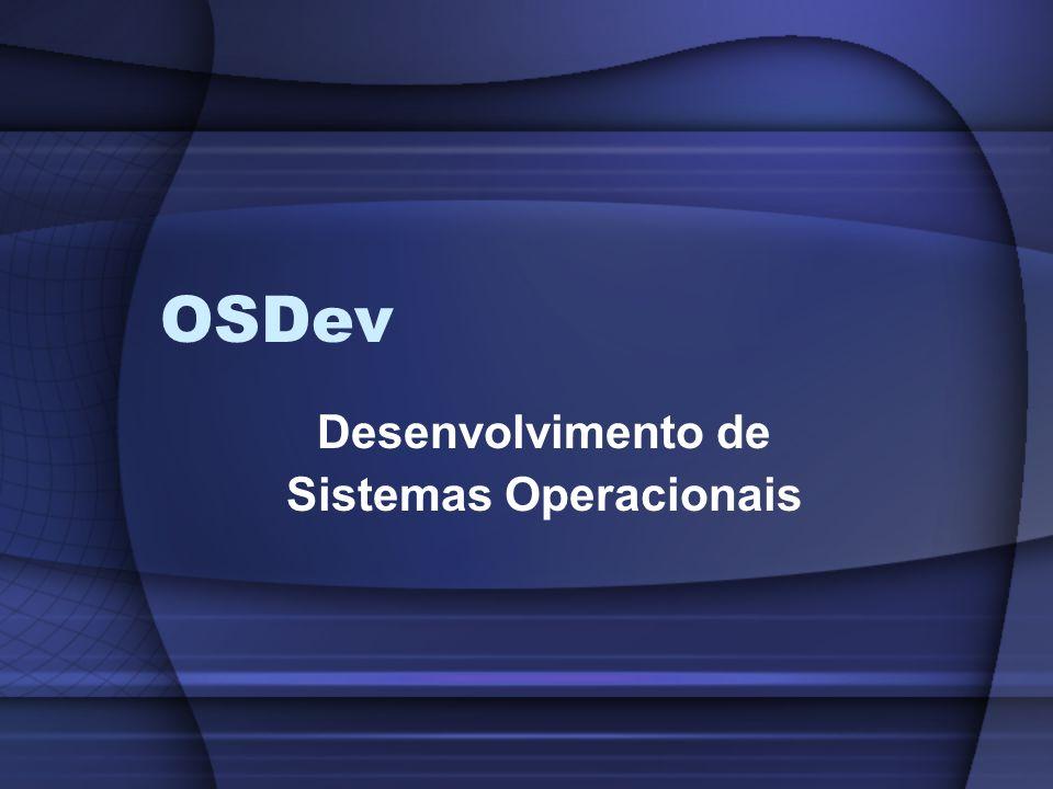 Desenvolvimento de Sistemas Operacionais