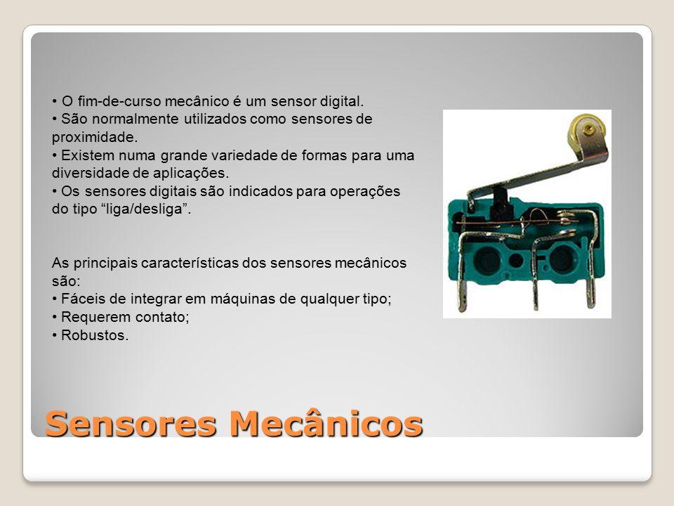 O fim-de-curso mecânico é um sensor digital