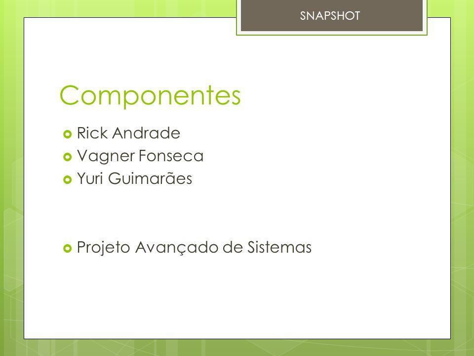 Componentes Rick Andrade Vagner Fonseca Yuri Guimarães