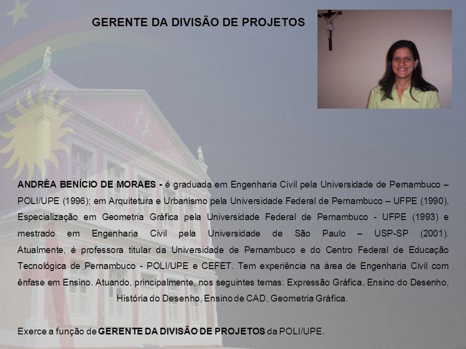 GERENTE DA DIVISÃO DE PROJETOS