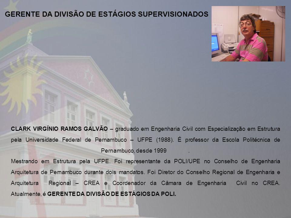 GERENTE DA DIVISÃO DE ESTÁGIOS SUPERVISIONADOS