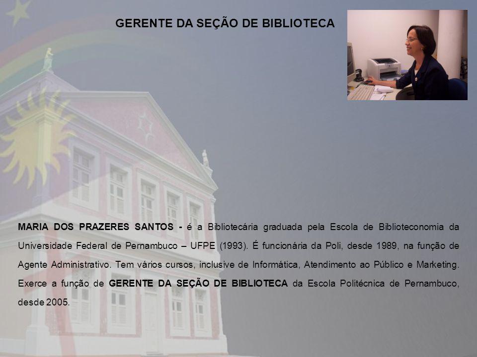 GERENTE DA SEÇÃO DE BIBLIOTECA