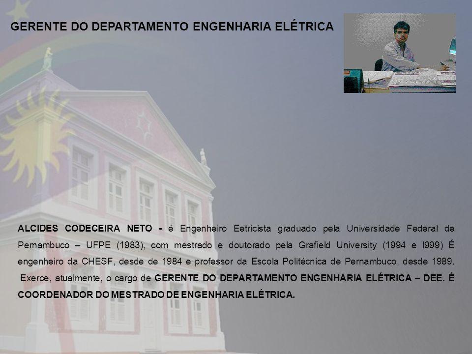 GERENTE DO DEPARTAMENTO ENGENHARIA ELÉTRICA