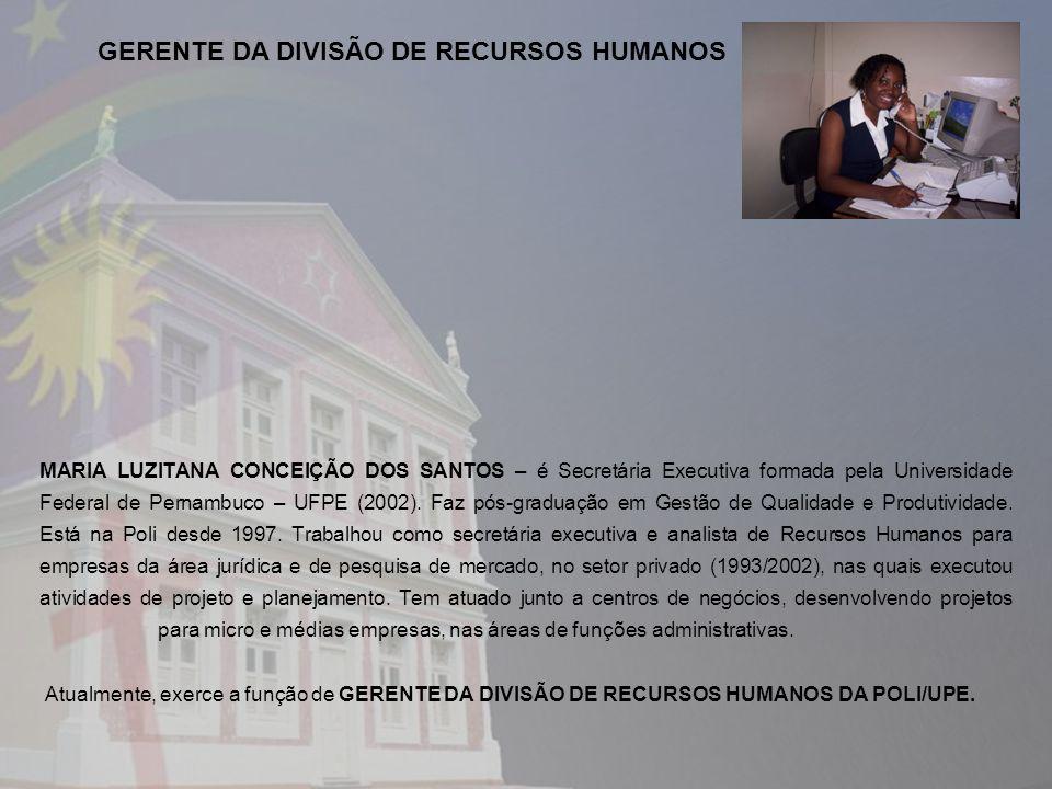 GERENTE DA DIVISÃO DE RECURSOS HUMANOS