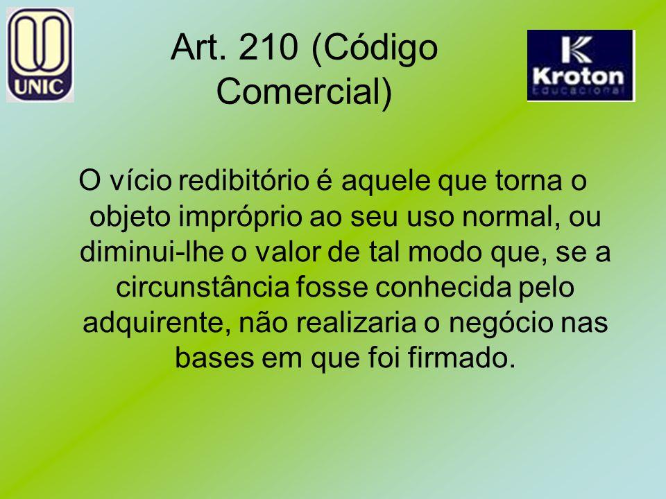 Art. 210 (Código Comercial)