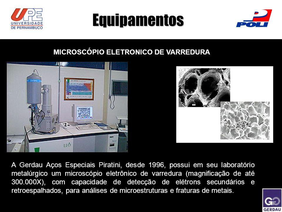 Equipamentos MICROSCÓPIO ELETRONICO DE VARREDURA