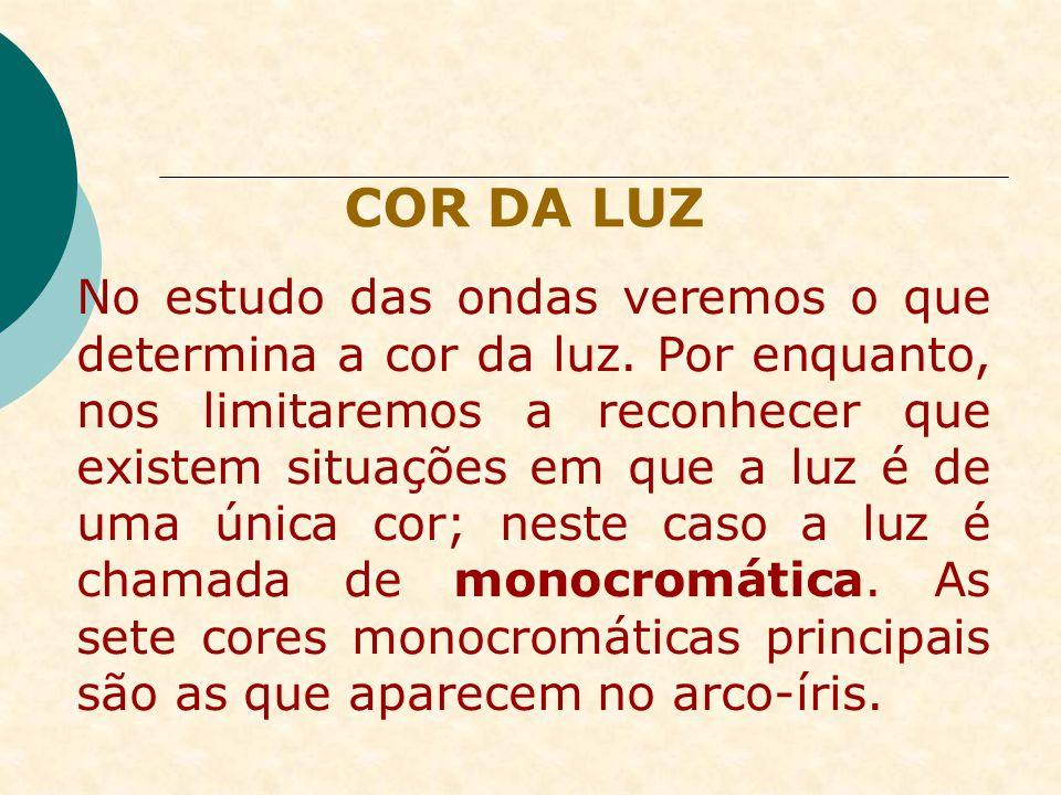COR DA LUZ