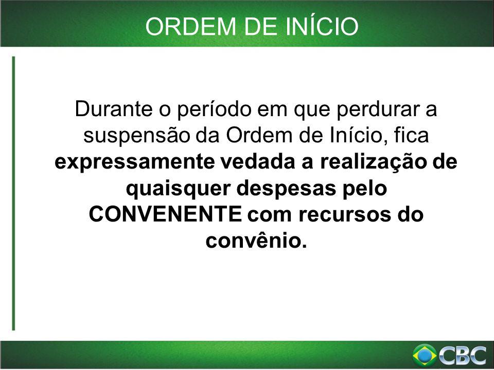 ORDEM DE INÍCIO