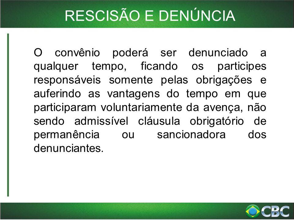 RESCISÃO E DENÚNCIA