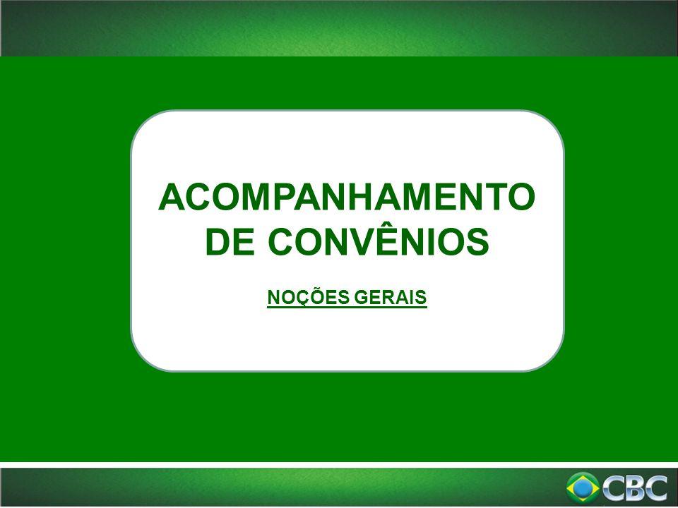 ACOMPANHAMENTO DE CONVÊNIOS