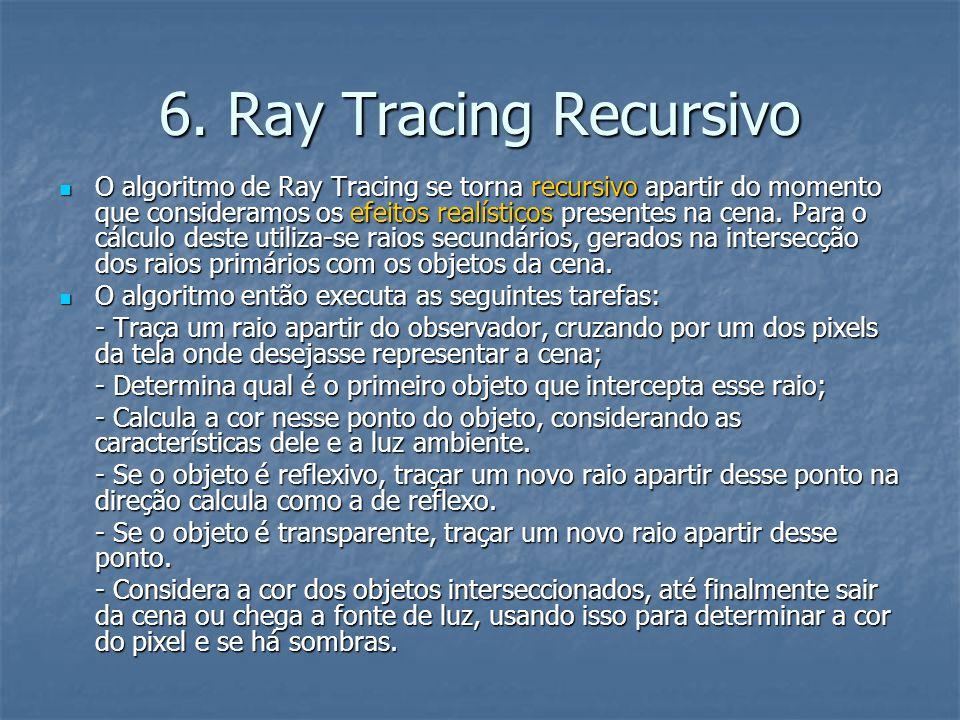 6. Ray Tracing Recursivo