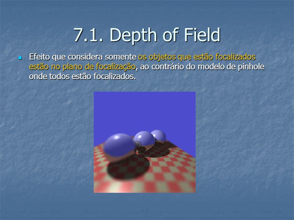 7.1. Depth of Field
