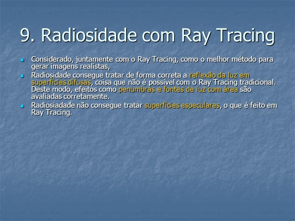 9. Radiosidade com Ray Tracing