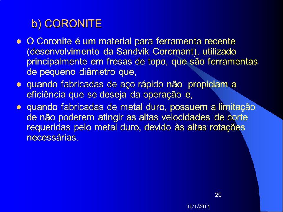 b) CORONITE