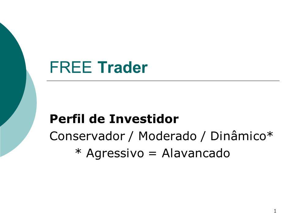 FREE Trader Perfil de Investidor Conservador / Moderado / Dinâmico*