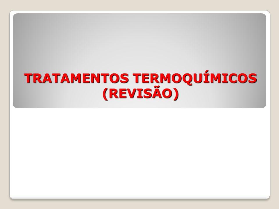 TRATAMENTOS TERMOQUÍMICOS (REVISÃO)