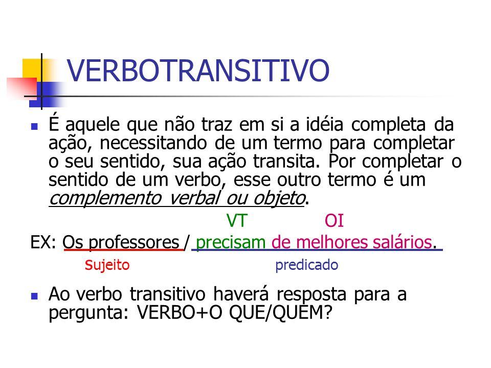 VERBOTRANSITIVO