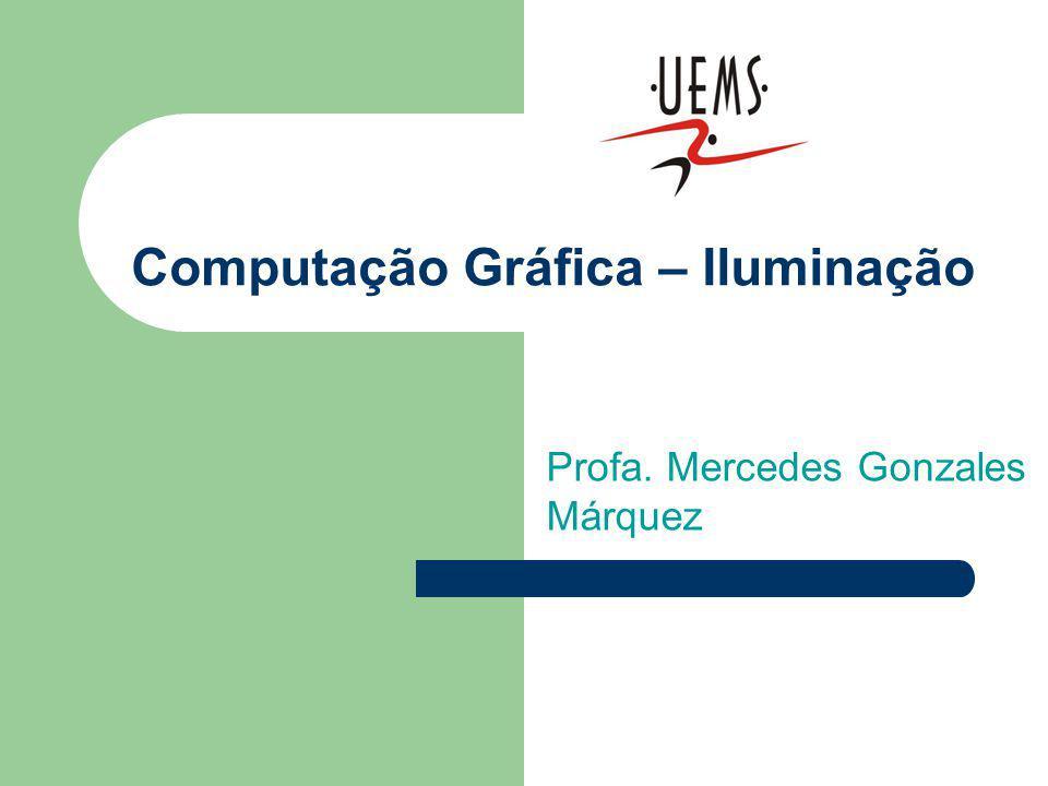 Computação Gráfica – Iluminação