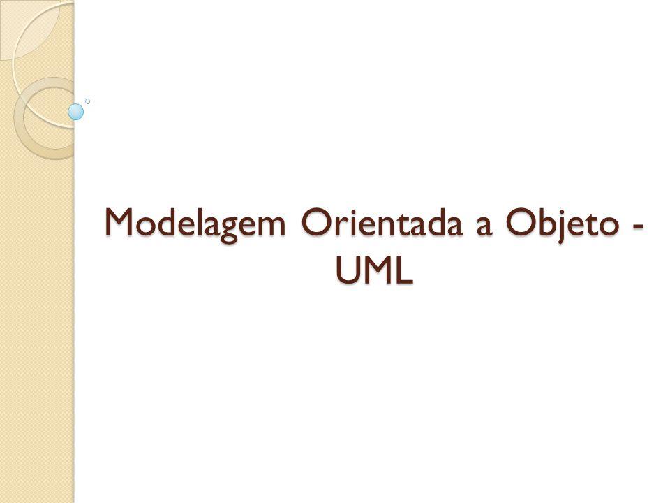 Modelagem Orientada a Objeto - UML