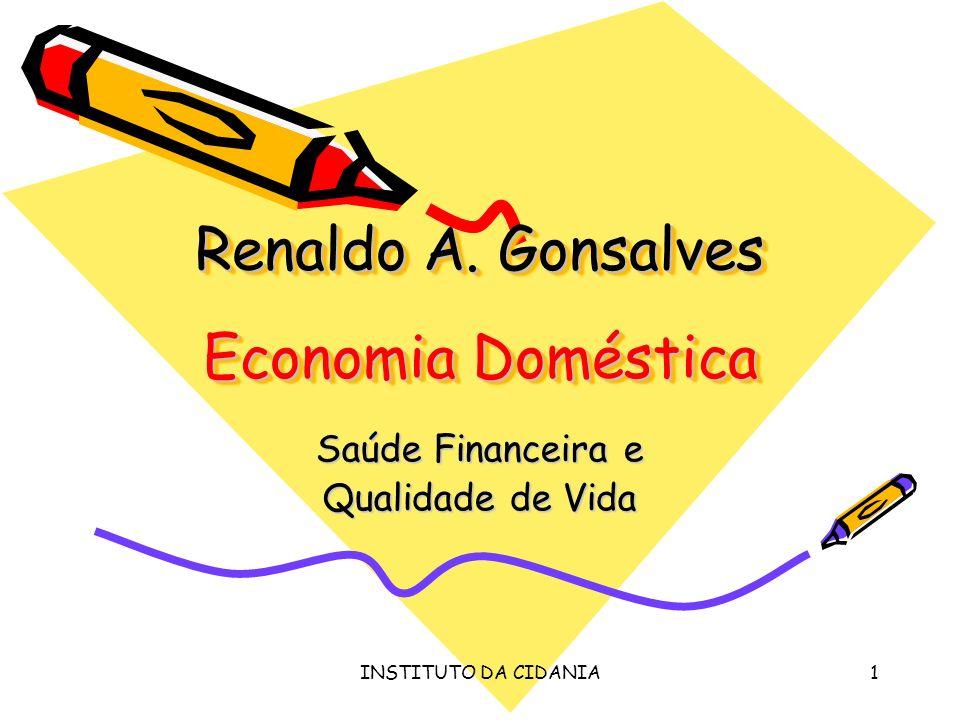 Renaldo A. Gonsalves Economia Doméstica
