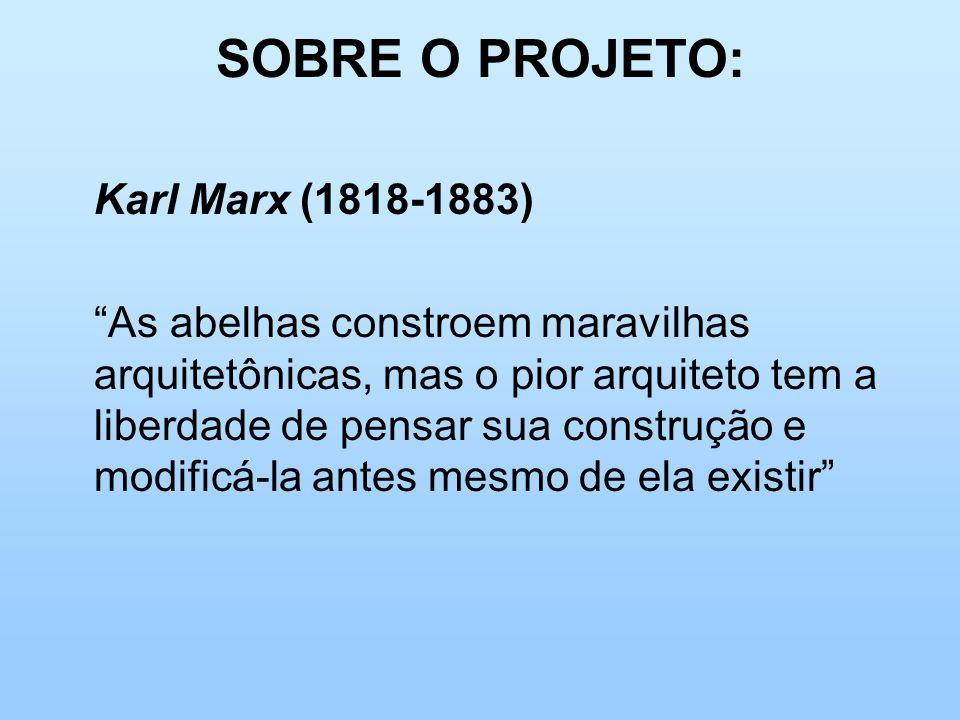 SOBRE O PROJETO: Karl Marx (1818-1883)