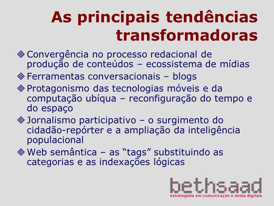 As principais tendências transformadoras