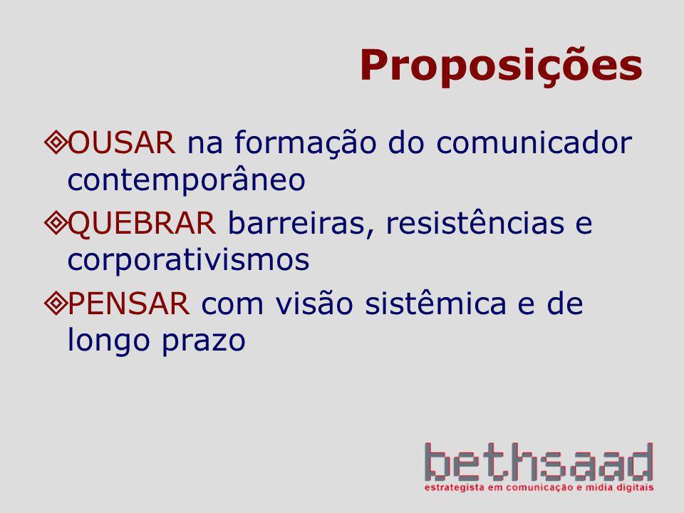 Proposições OUSAR na formação do comunicador contemporâneo