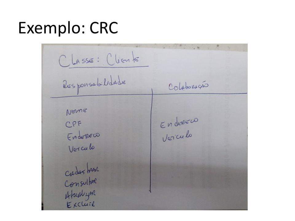 Exemplo: CRC