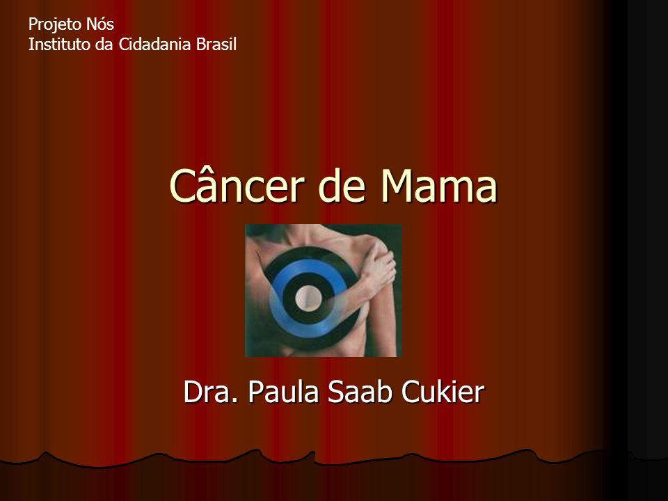 Câncer de Mama Dra. Paula Saab Cukier Projeto Nós