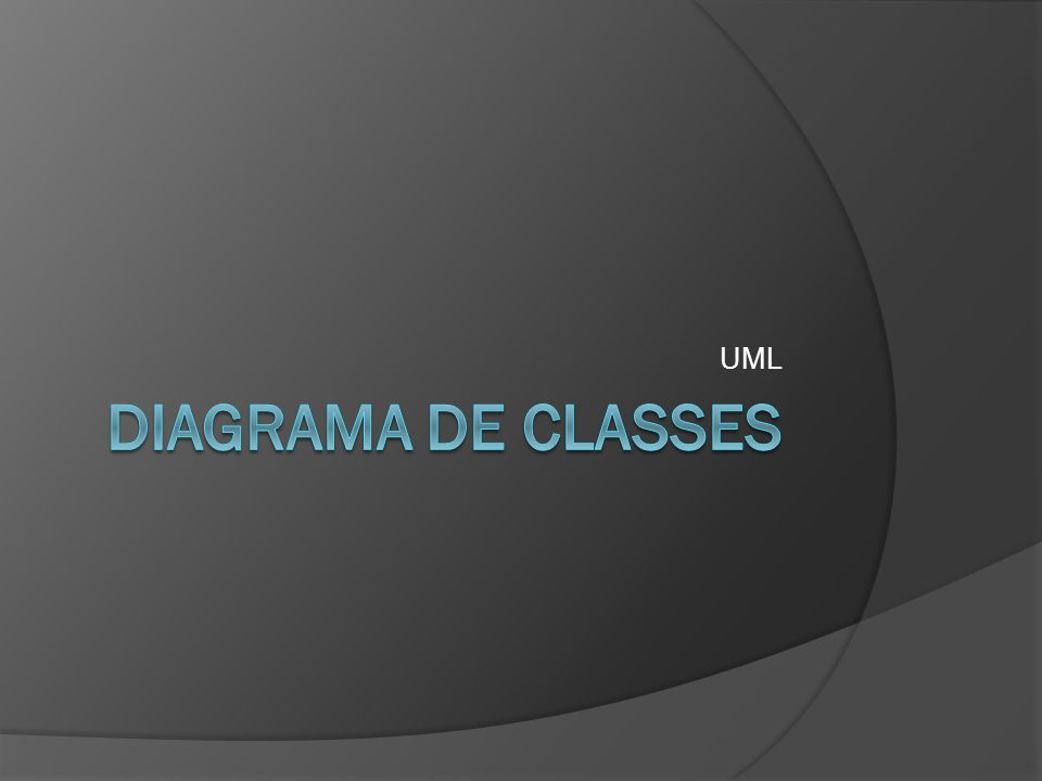 UML Diagrama de classes