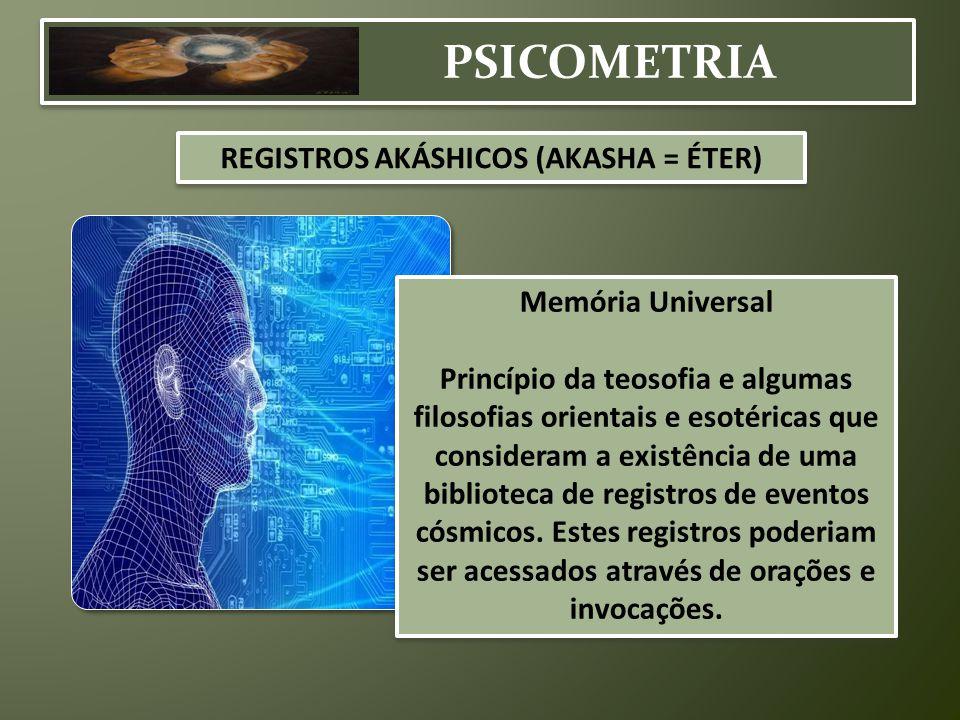 REGISTROS AKÁSHICOS (AKASHA = ÉTER)