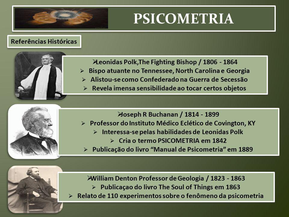 PSICOMETRIA Referências Históricas