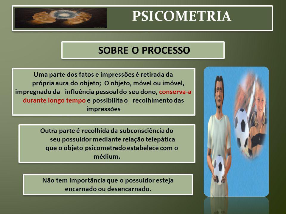 PSICOMETRIA SOBRE O PROCESSO