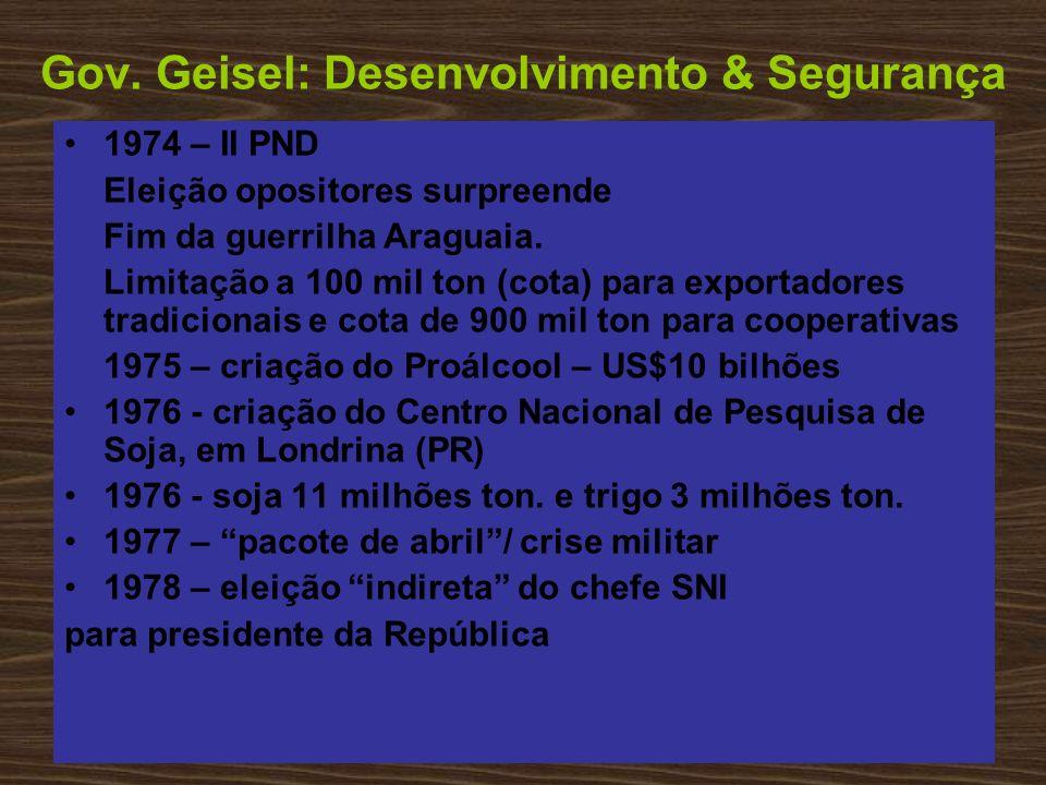 Gov. Geisel: Desenvolvimento & Segurança