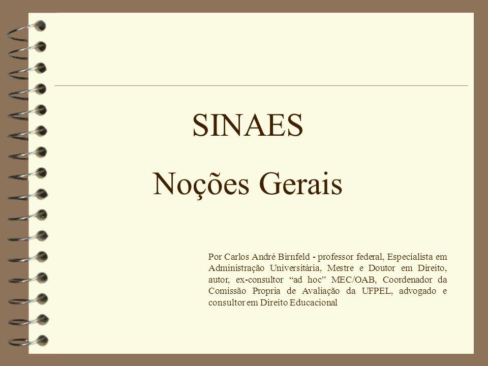 SINAES Noções Gerais.